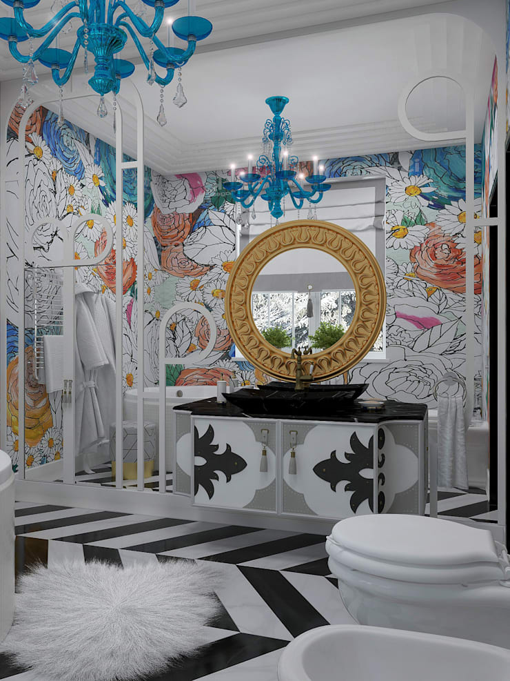 Eclectic style bathroom by Дом Мечты Eclectic
