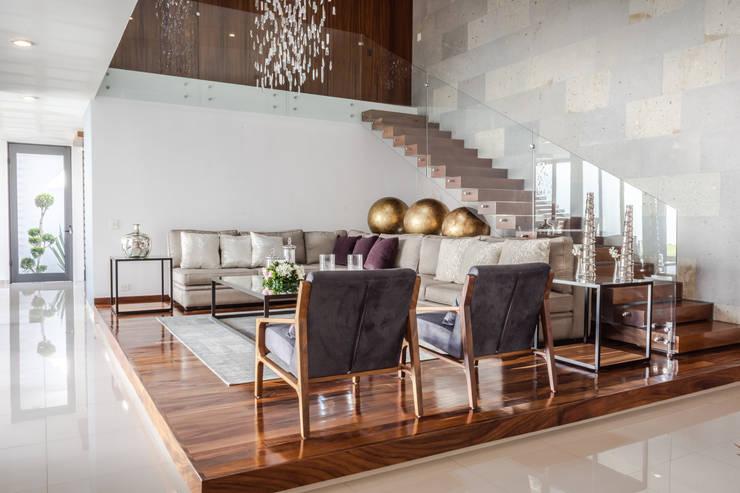 SALA: Salas de estilo  por GENETICA ARQ STUDIO, Moderno
