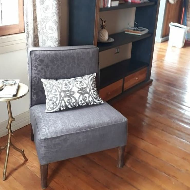 Living room by Azohia Design - Diseño y Decoracion Maria Alejandra Bucher EIRL , Modern