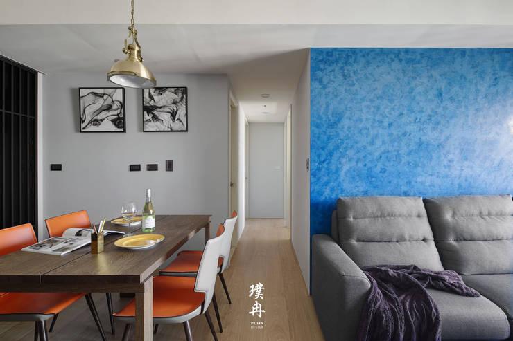 Muebles de cocinas de estilo  por 璞冉空間設計, Minimalista