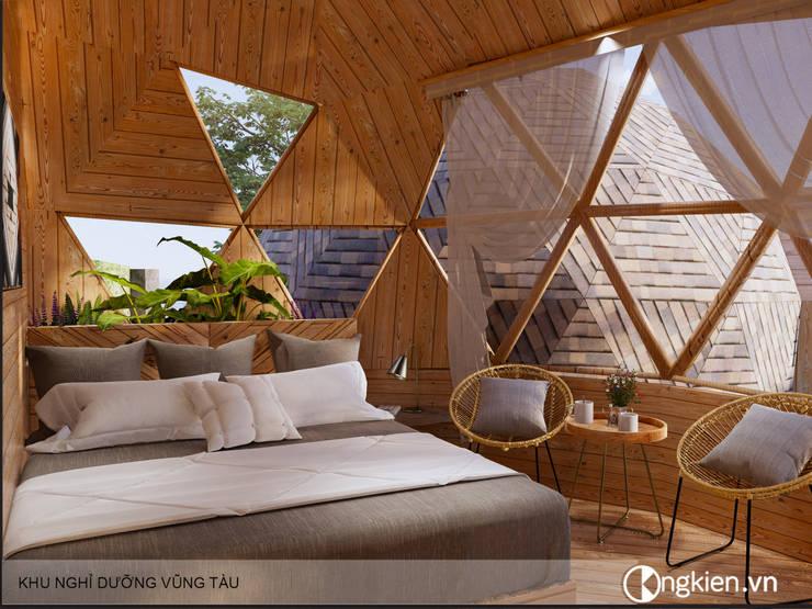 Thiết kế nội thất bungalow ốc sên:   by Công ty TNHH Ông Kien,