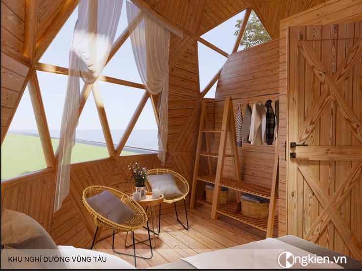 Mẫu thiết kế bungalow ốc sên:   by Công ty TNHH Ông Kien,