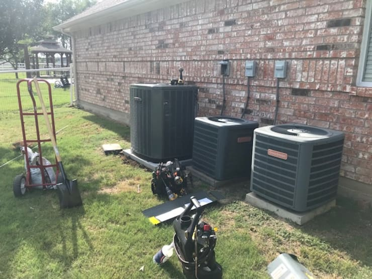 "Installation of new heat pump in Lucas, TX: {:asian=>""asian"", :classic=>""classic"", :colonial=>""colonial"", :country=>""country"", :eclectic=>""eclectic"", :industrial=>""industrial"", :mediterranean=>""mediterranean"", :minimalist=>""minimalist"", :modern=>""modern"", :rustic=>""rustic"", :scandinavian=>""scandinavian"", :tropical=>""tropical""}  by Central Mechanical HVAC Services,"