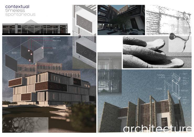 تصميم معماري Architecture:   تنفيذ Anastomosis Design Lab
