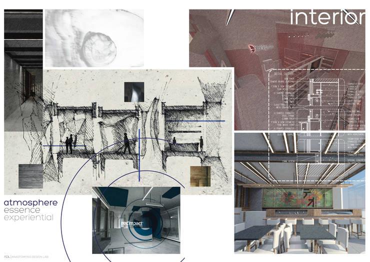 تصميم داخلي Interiors:   تنفيذ Anastomosis Design Lab