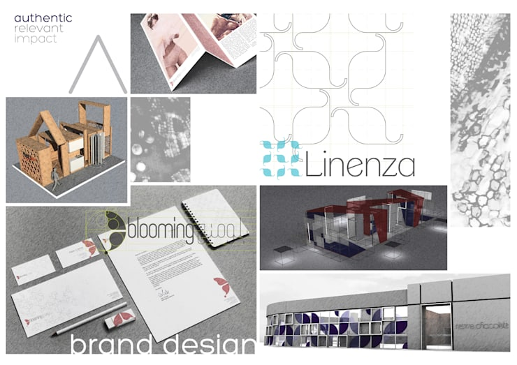 تصميم الهوية Brand Design:   تنفيذ Anastomosis Design Lab