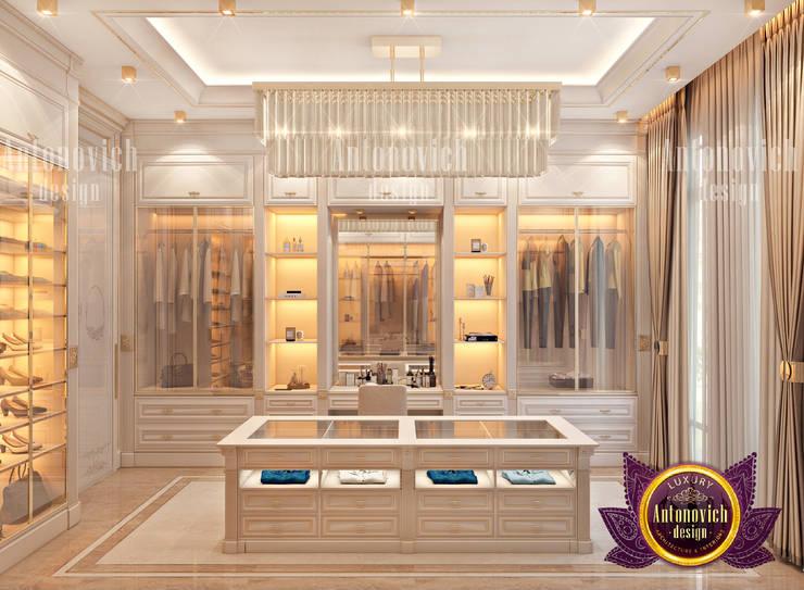 Luxury Dressing Room by Female Designer:   by Luxury Antonovich Design,