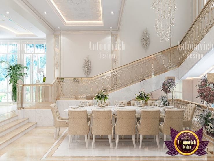 Dining Room of Luxury Design:   by Luxury Antonovich Design,