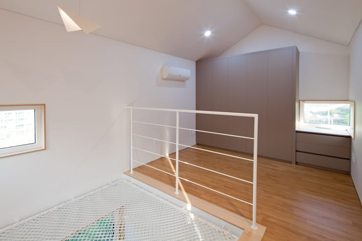 3층 침실: 위드하임의  작은 침실,
