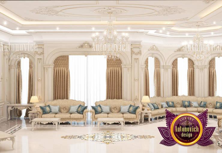 Contemporary Majlis Design:   by Luxury Antonovich Design,
