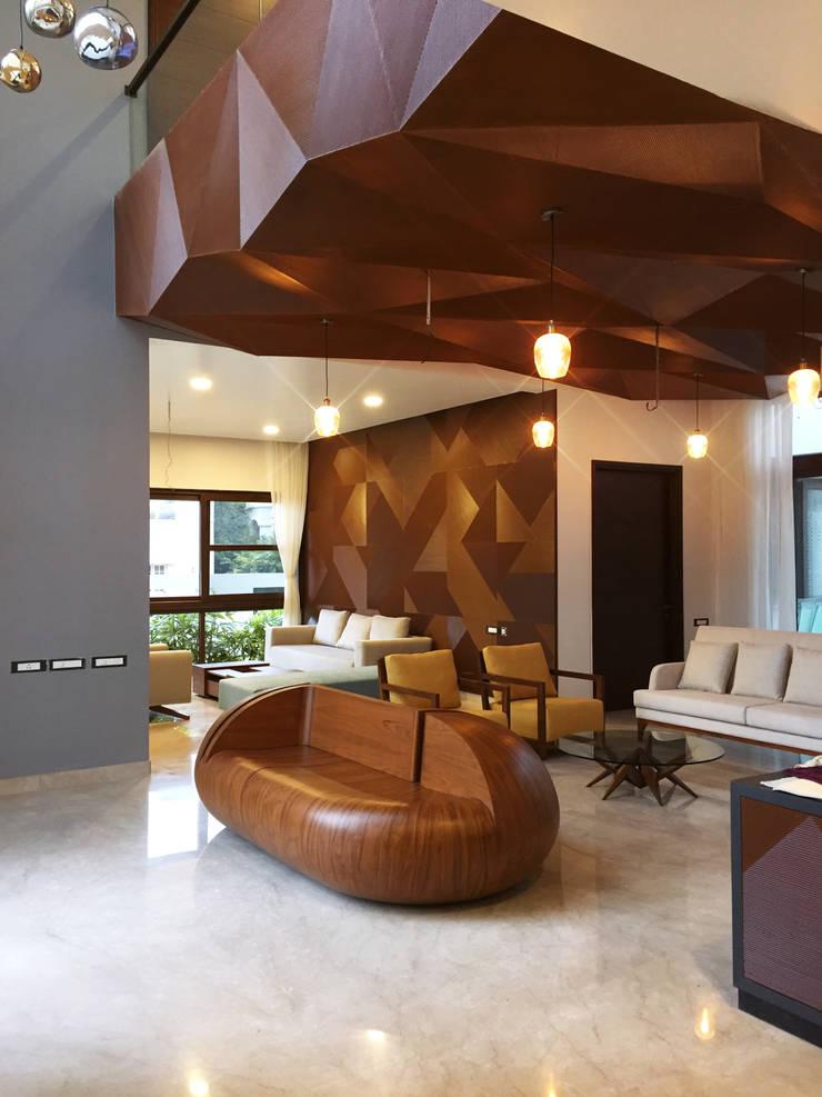 Living room by Mr. Blueprint, Modern MDF