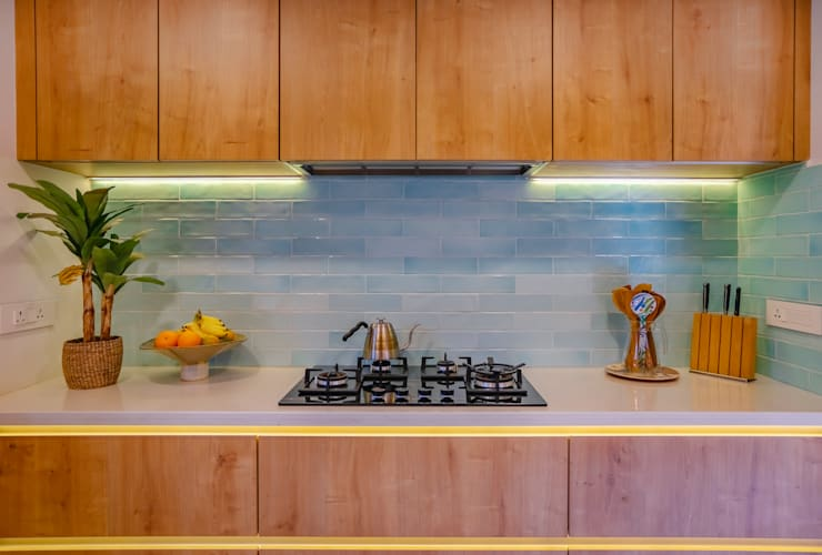 Built-in kitchens by Mr. Blueprint, Tropical MDF