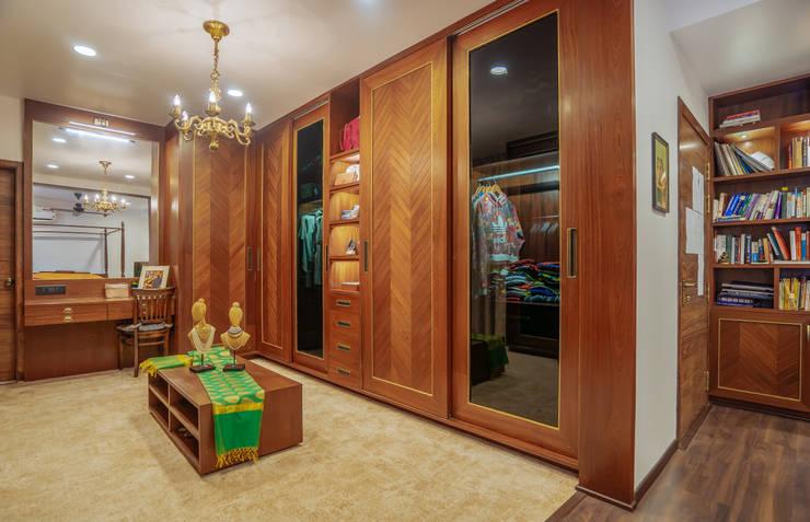 Dressing room by Mr. Blueprint, Tropical Wood Wood effect