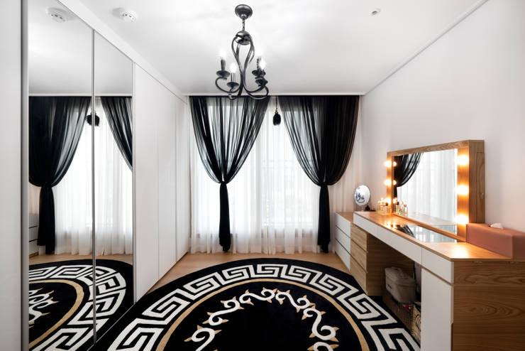 30평 아파트 홈스타일: 제이미홈스타일링의  드레스 룸,