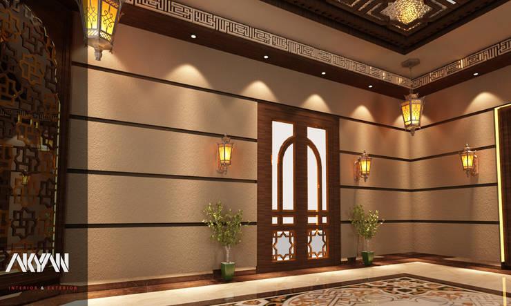 طراز عربي جذاب  لبيت  بالدوحة: انتقائي  تنفيذ AKYAN, إنتقائي مزيج خشب وبلاستيك