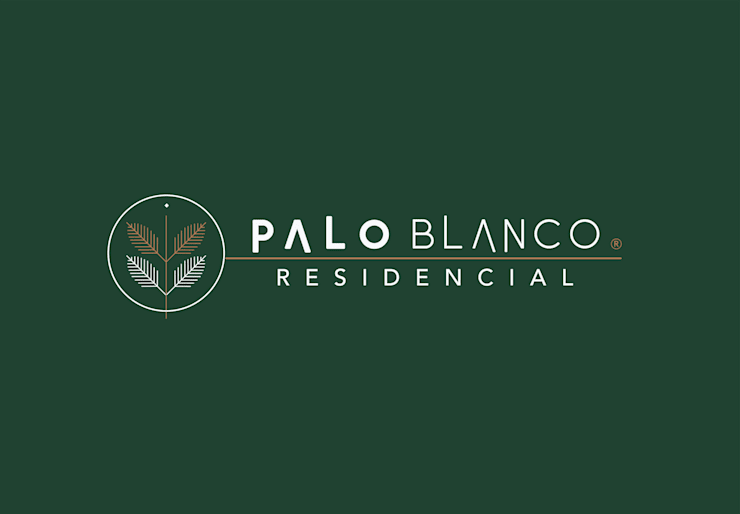 Palo Blanco Residencial: Casas de estilo  por VillaSi Construcciones