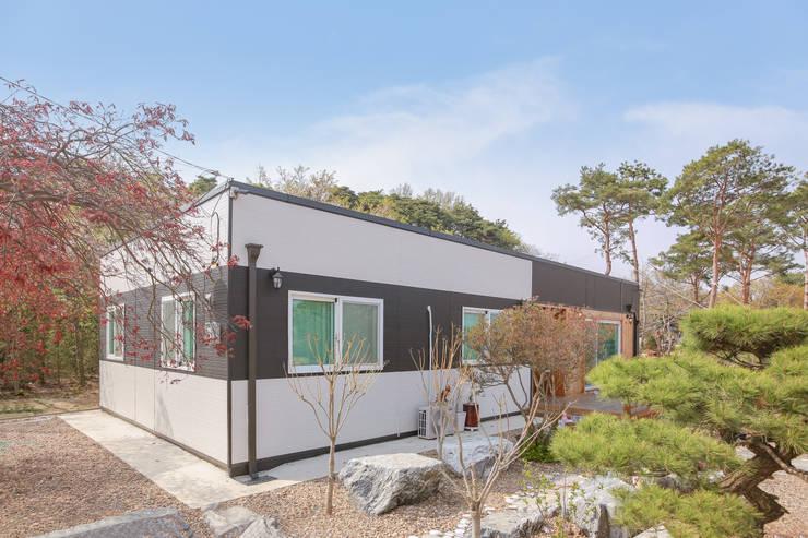 공간제작소 네번째 설계사례: 공간제작소(주)의  목조 주택,