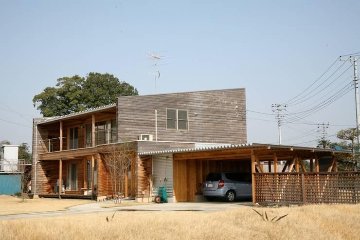 外観: 株式会社高野設計工房が手掛けた木造住宅です。,