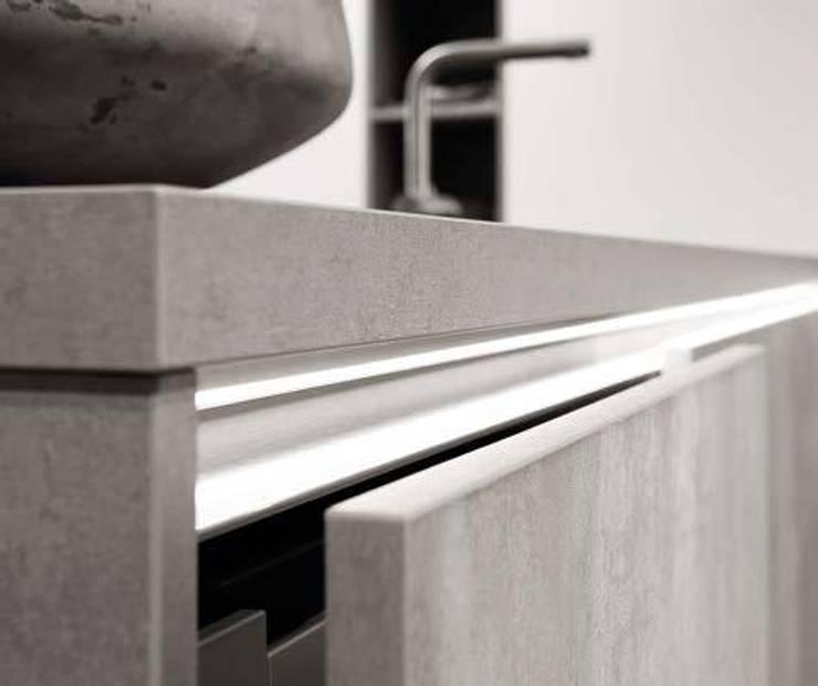 Concrete Kitchen Units:  Kitchen by LWK Kitchens SA