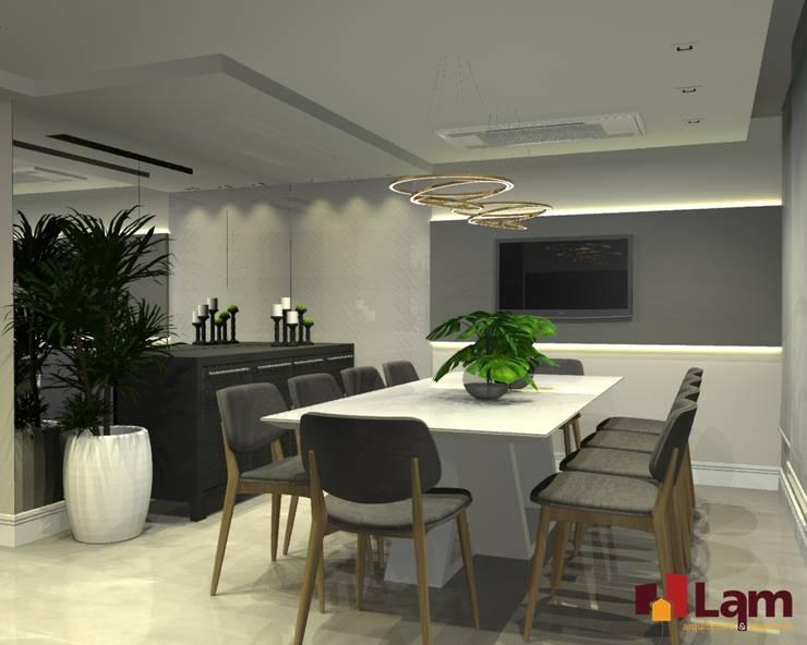 Terrazas de estilo  por LAM Arquitetura | Interiores, Moderno