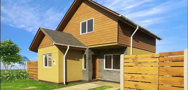 Maisons modernes par constructora ReyGer Moderne