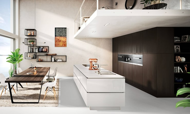 Wood Kitchens :  Built-in kitchens by LWK Kitchens SA,
