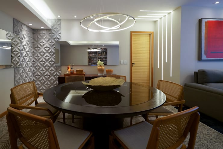 Dining room by M2T1, Eclectic