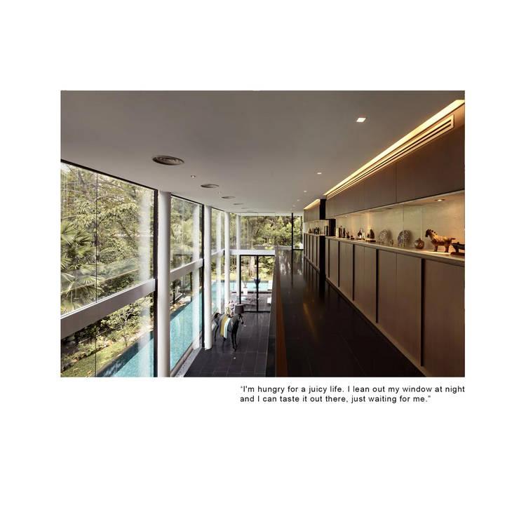 gcb construction singapore designer museum homes alex kwan: modern  by museum homes, Modern Granite
