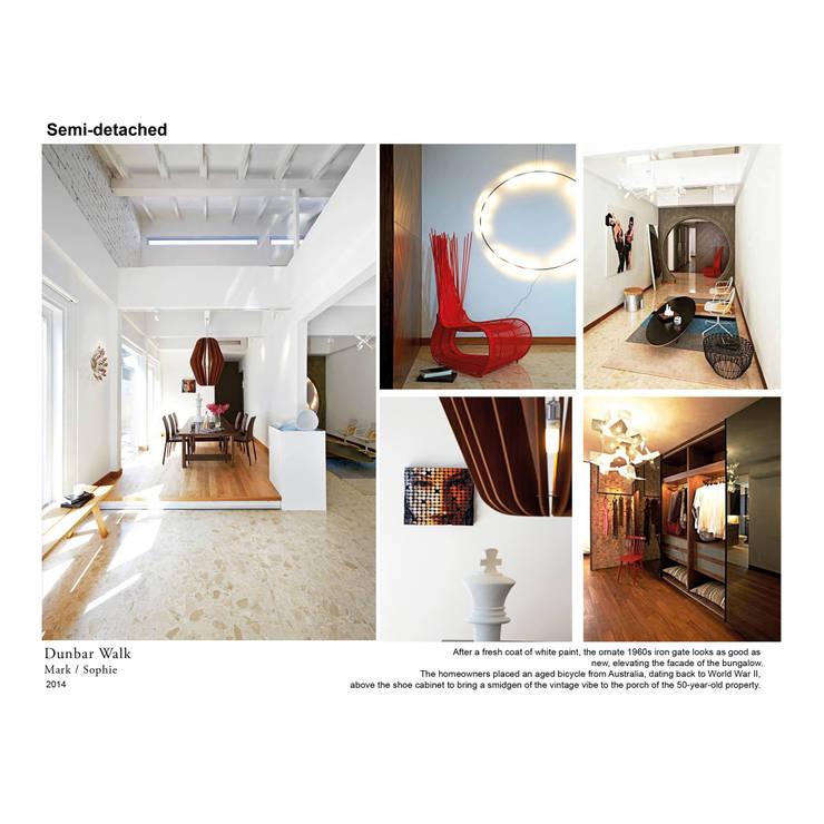 dunbar walk:  Dining room by museum homes, Scandinavian
