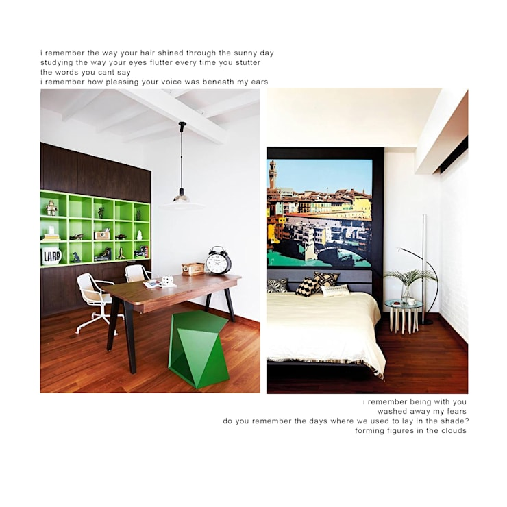 dunbar walk:  Study/office by museum homes, Eclectic