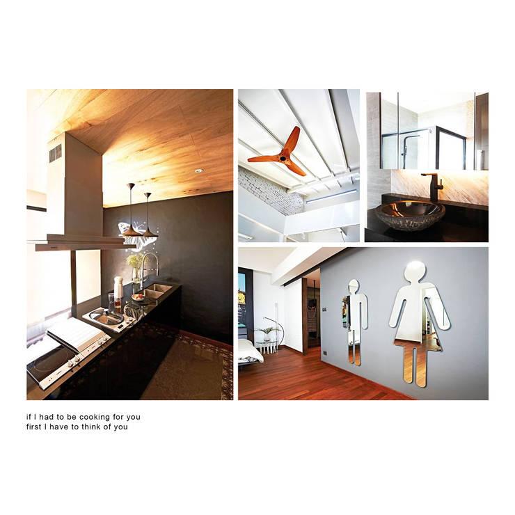dunbar walk:  Kitchen units by museum homes, Scandinavian