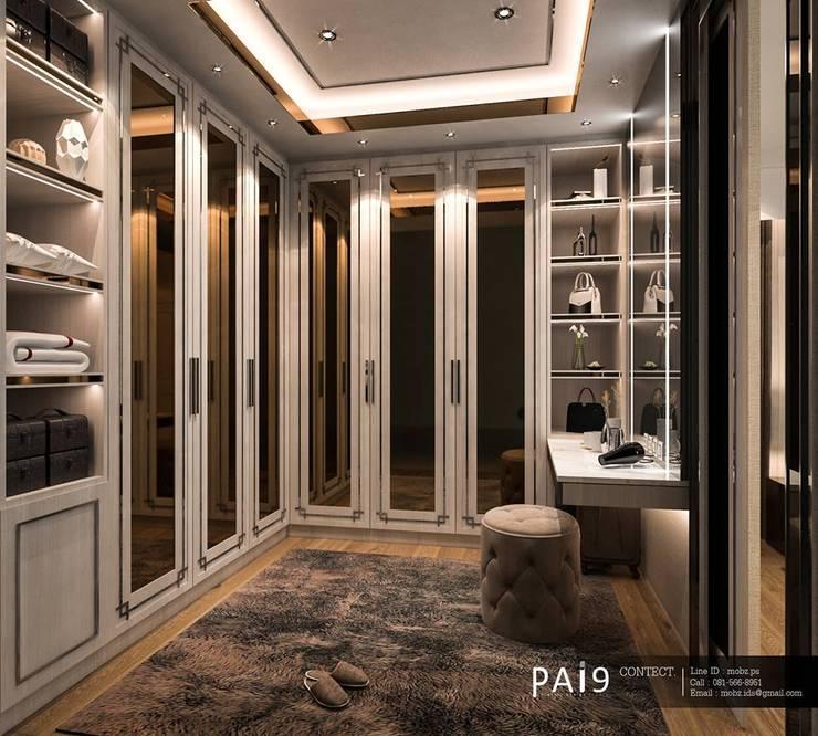 Project : Perfect Place 4 – Ratchapruek:  ห้องแต่งตัว by PAI9 Interior Design Studio