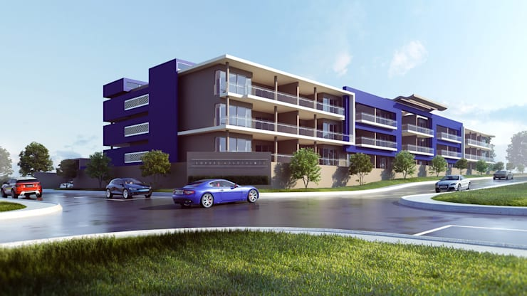 Houghton Luxury Apartments:   by Archalo Creative Imagery,