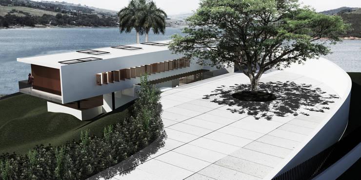 Casa Calima: Casas de estilo  por Gamma,