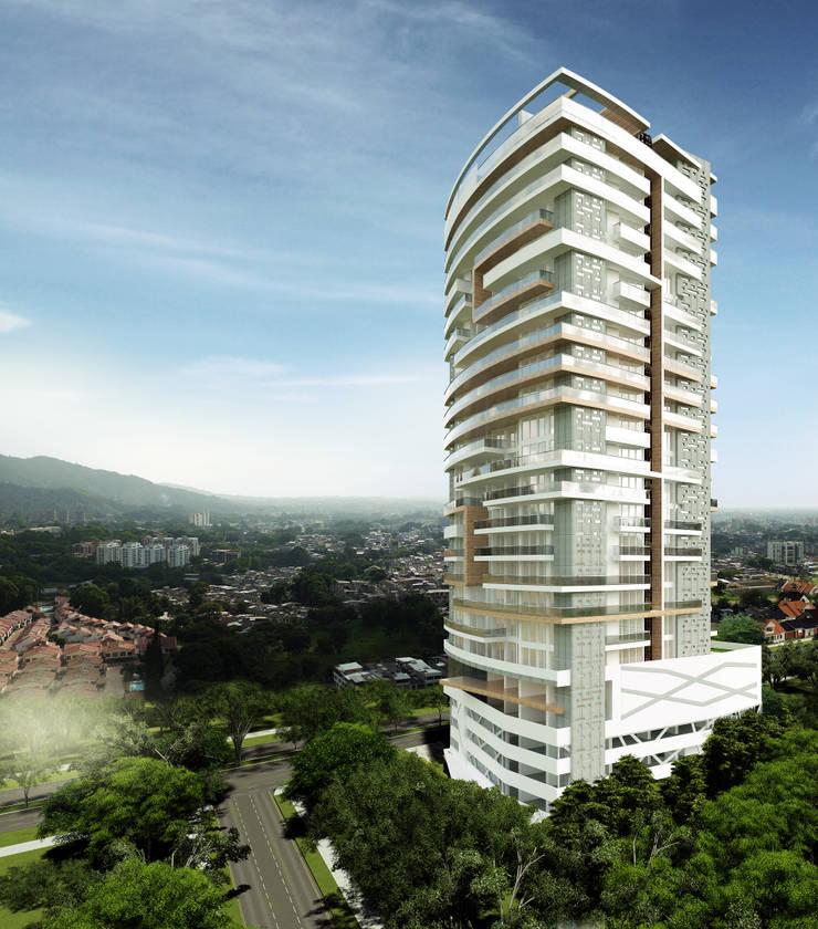 Casas de estilo  por Diseños y construcciones Dyco, Moderno