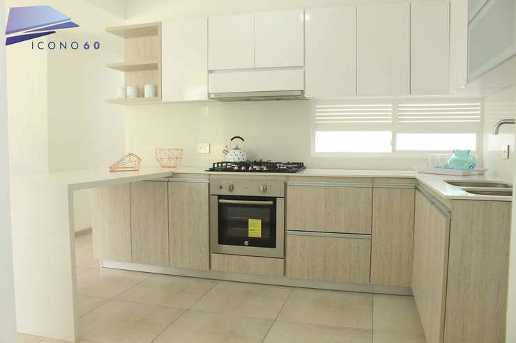 Cocinas de estilo  por Diseños y construcciones Dyco, Moderno