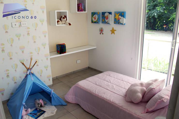 Cuartos infantiles de estilo  por Diseños y construcciones Dyco, Moderno