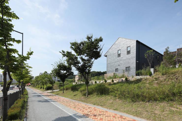 세종시주택 락현재: 주택설계전문 디자인그룹 홈스타일토토의  전원 주택,