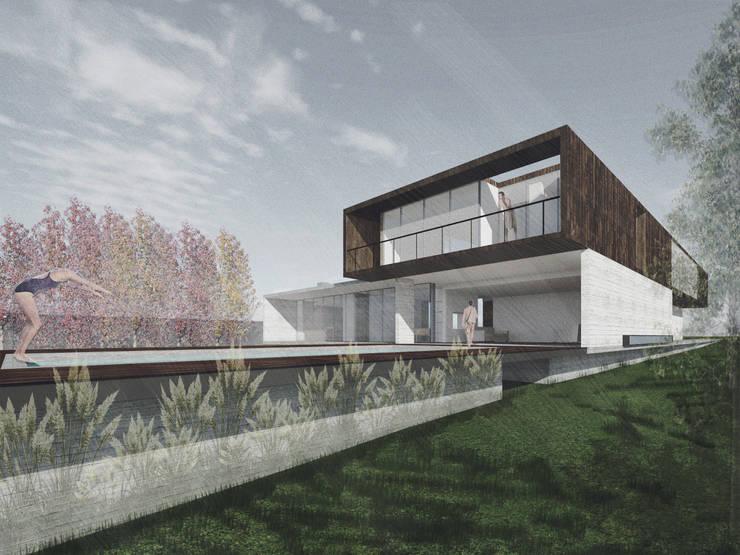 Casa Cepeda: Casas de estilo  por Logan Leyton Arquitectos