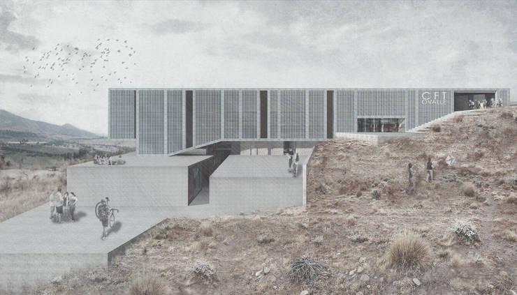 CFT Ovalle: Casas de estilo  por Logan Leyton Arquitectos