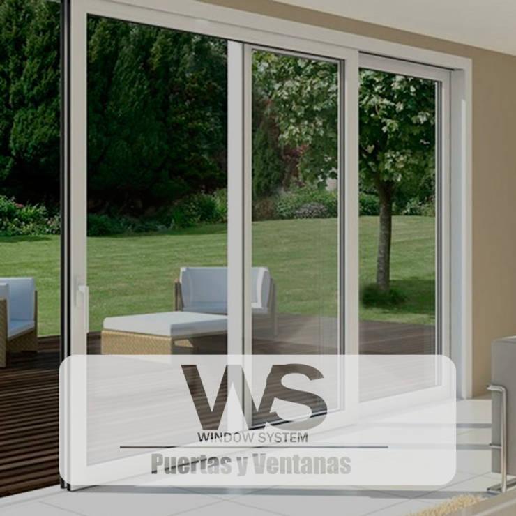ventanas en PVC - : Ventanas de PVC de estilo  por HOME DECO & HOME GLASS,