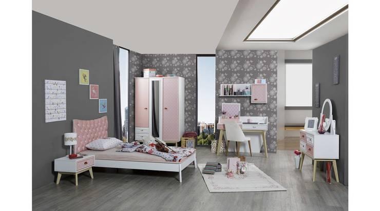 روزي غرفه البنات :  غرفة الأطفال تنفيذ اثاث مصر