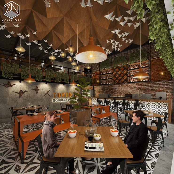 Dining room by Zcala Norte, Industrial