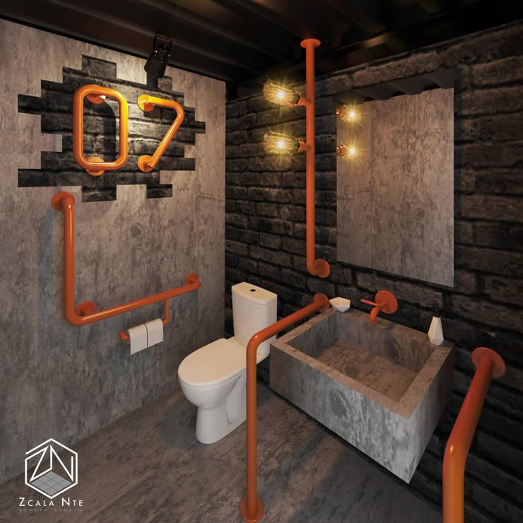 Bathroom by Zcala Norte, Industrial