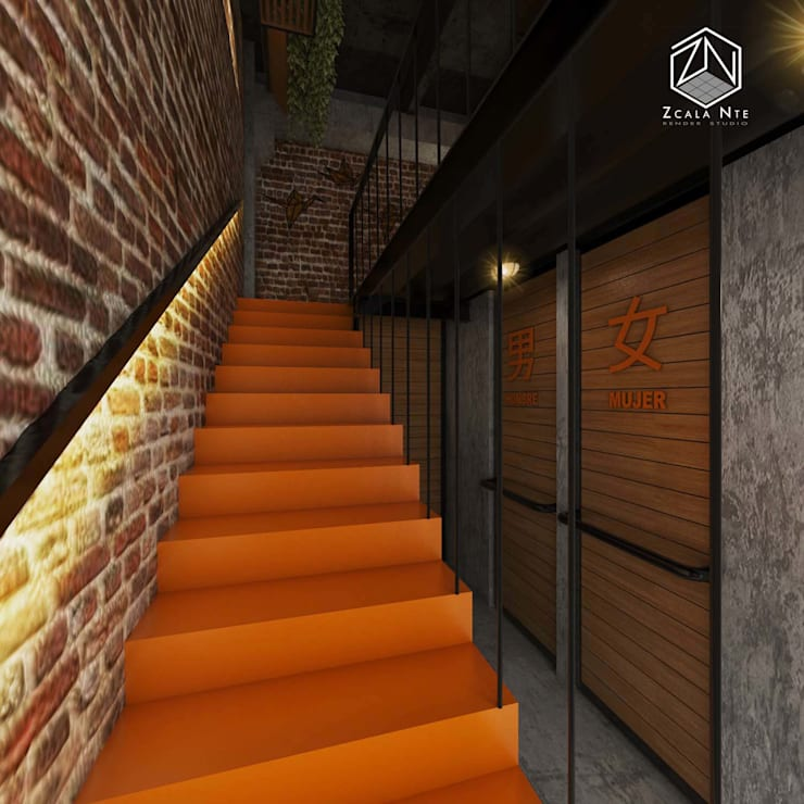 Stairs by Zcala Norte, Industrial