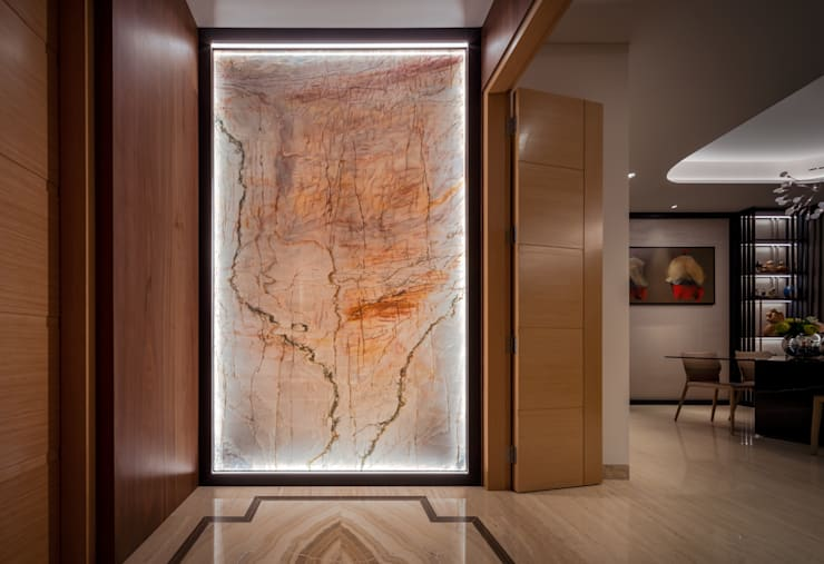 Bishopgate Residences:  Corridor, hallway by Summerhaus D'zign