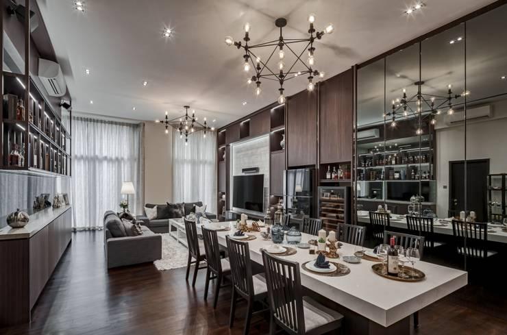 Living room by Summerhaus D'zign,