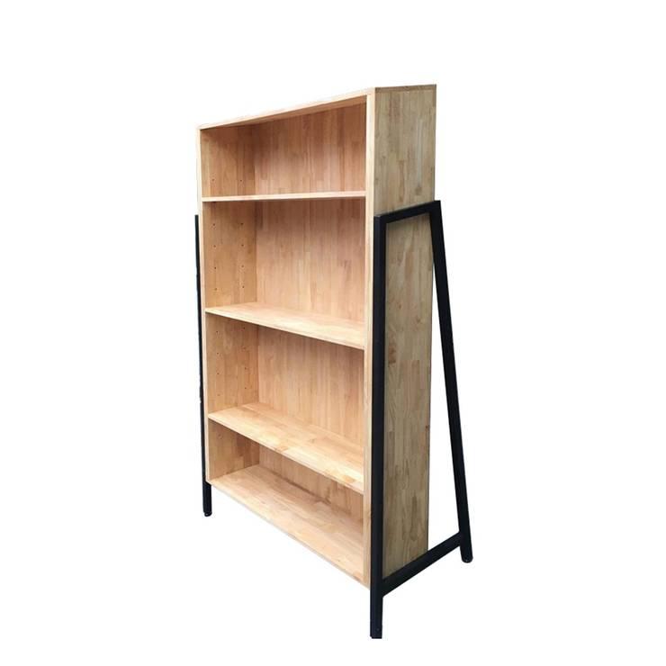 """Kệ sách gỗ Laderto """"thay đổi cục diện"""" trong phong cách nội thất:  Living room by Home Office,"""