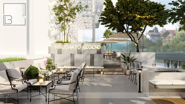 Macchiato Legned:  Bungalow by Bdoup Architects