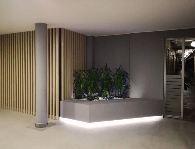 Jardins de pedras  por EMME ARQUITECTURA S.A.S., Moderno